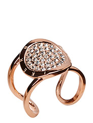GLOSSARY RING - ROSE GOLD CRYSTAL