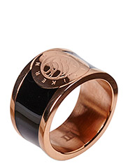 LYNCH RING - ROSE GOLD BLACK