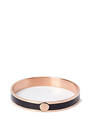 PENN METAL BRACELET - ROSE GOLD BLACK