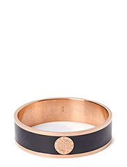 JOVE BANGLE - ROSE GOLD BLACK