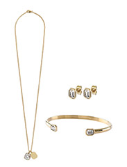 PRINCESS JEWELLERY SET - SHINY GOLD