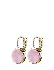 CORKIN - SHINY GOLD/ROSE QUARTZ