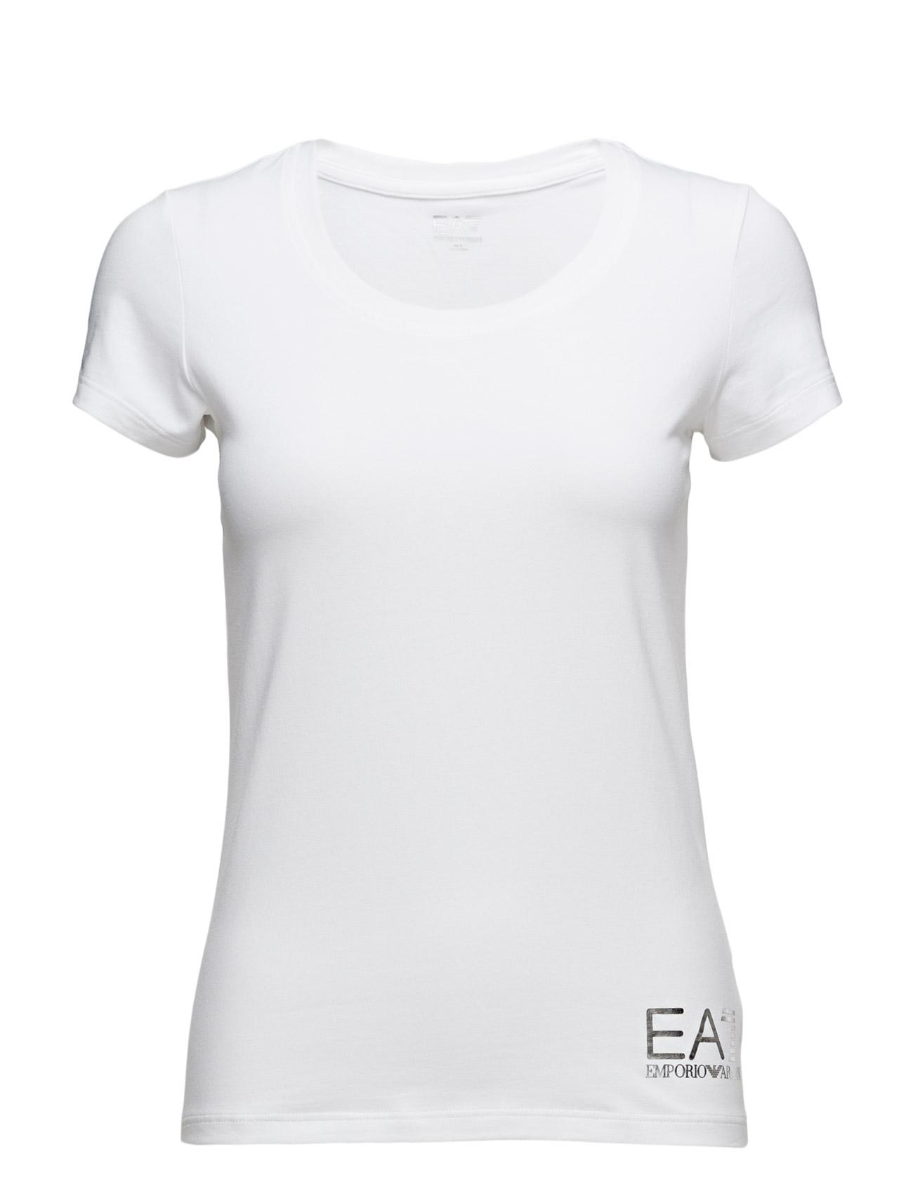 Woman'S Knit Jersey EA7 Kjører T-Skjorter til  - MoteJakten