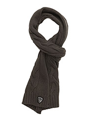 MAN'S KNIT SCARF - 16444-FOREST NIGHT