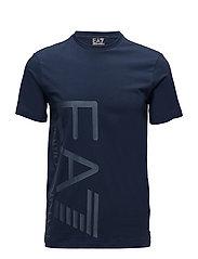 T-SHIRT - 1554-NAVY BLUE