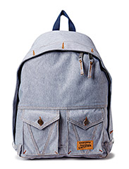 Jeans Backpack - Light Blue Denim