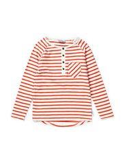 Nord t-shirt grandpa l/s - Offwhite/burned tomatoe