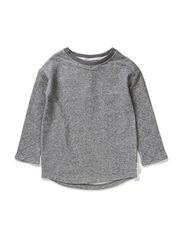 Katitzy sweat long top - Antracit melange