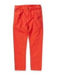 Krister chinos pants - Burned tomato