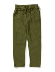 Nono low crotch pant patches - Mossgreen