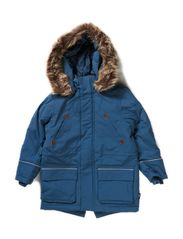 Nate outdoor winterparkas - Steelblue