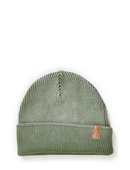 Knit fishermans hat - Mossgreen