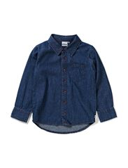 Ennis soft denim shirt - Medium blue