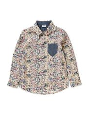 Leo Shirt l/s - 46 Multicolour paint