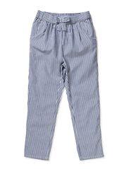 Loreen  Low crotch pant - 74 blue/white stripe