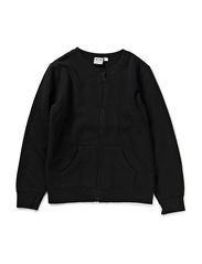 Eberhart Sweat zip jacket - Black