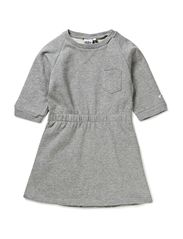 Clara Girl Sweat Dress - Grey