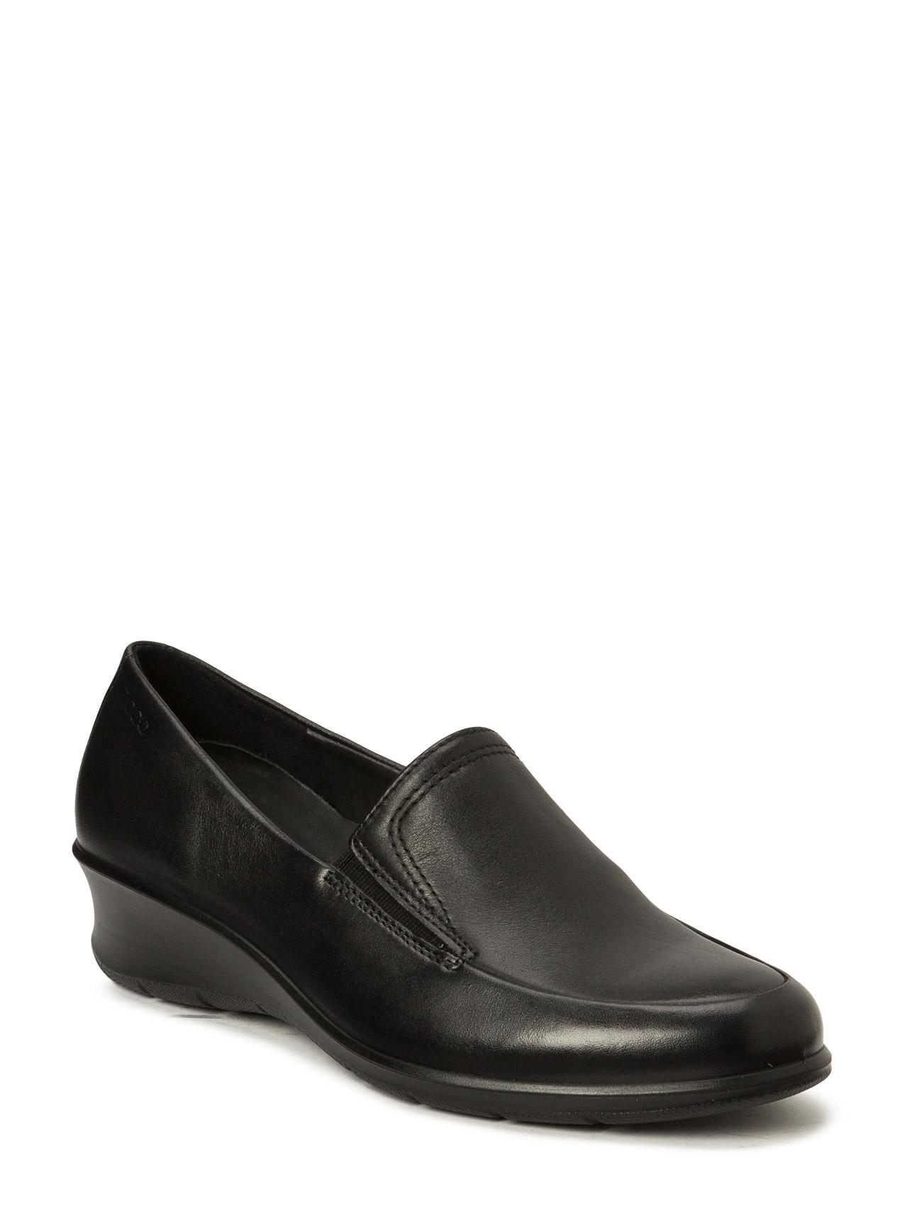 Felicia ECCO Flade sko til Damer i Sort