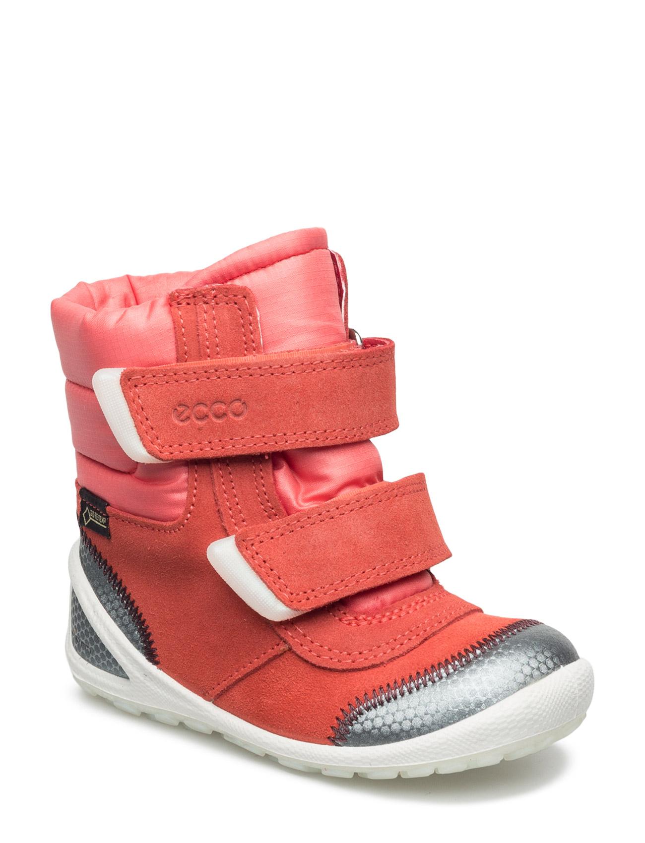 ECCO Biom lite vinterstøvler Rosa Børn forhandler på mode