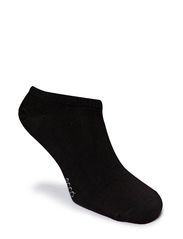 2-Pac No Show Sock - BLACK