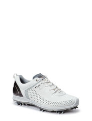 ECCO WOMEN'S GOLF BIOM PERFOR. - WHITE/BUFFED SILVER