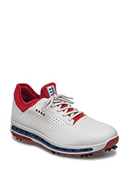 MENS GOLF COOL - WHITE/TOMATO