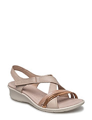 FELICIA SANDAL - MUTED CLAY/POWDER/ROSE DUST