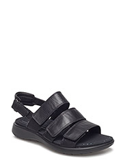 SOFT 5 SANDAL - BLACK