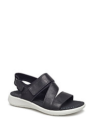 SOFT 5 SANDAL - BLACK/BLACK