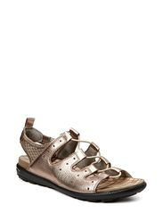 JAB SANDAL - WARM GREY METALLIC/WARM GREY