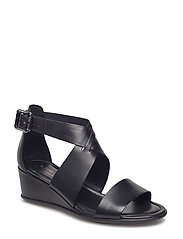 SHAPE 35 WEDGE SANDAL - BLACK