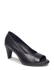 SHAPE 55 PEEP TOE SLEEK - BLACK