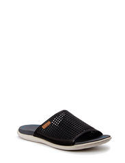 COLLIN SANDAL - BLACK/WHISKY