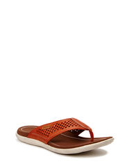 COLLIN SANDAL - COGNAC/WHISKY