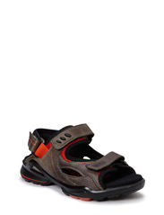BIOM SANDAL - WARM GREY/FIRE
