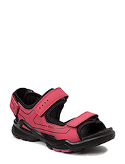 BIOM SANDAL - RASPBERRY/BLACK