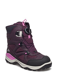 SNOW MOUNTAIN - BLACK/MAUVE/MAUVE-BEETROOT