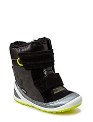 BIOM LITE INFANTS BOOT - BUFFED SILVER/BLACK/DARK SHADOW