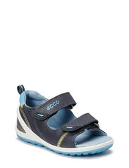 LITE INFANTS SANDAL - DARK SHADOW/SKY BLUE
