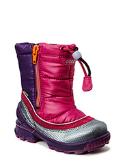 BIOM HIKE INFANT - BUFFED SILVER/FUCHSIA/FUCHSIA