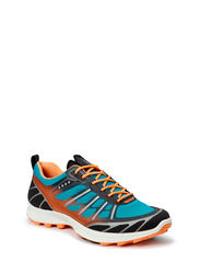 ECCO TRAIL FL LADIES - BLACK/PAGODA BLUE/PAPAYA