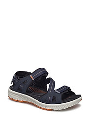 TERRA SANDAL - TRUE NAVY/ORANGE
