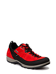 YURA MEN'S - BLACK/TOMATO