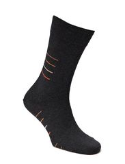 Mens Business Sock Stripe - ASCOT/SAFARI/LIGHT BOSCO