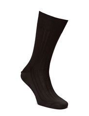 Premium Business Sock Silk - BLACK
