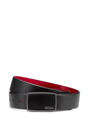 Golf Enamel Belt - BLACK