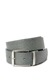 Dailey Mens Belt - DARK SHADOW/BLACK