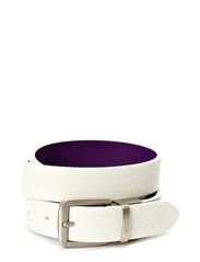 Dailey Ladies Belt - WHITE/IMPERIAL PURPLE