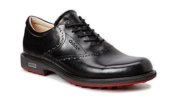 Ecco Tour Hybrid Golf Shoe Black Brick