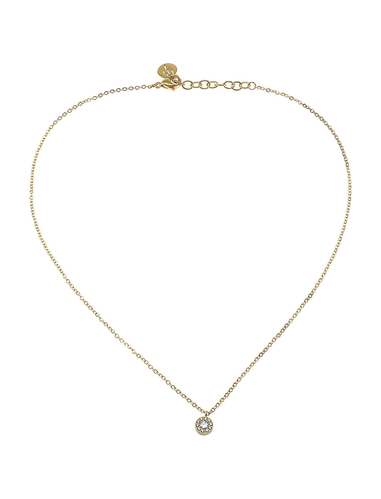 edblad Thassos necklace mini gold fra boozt.com dk
